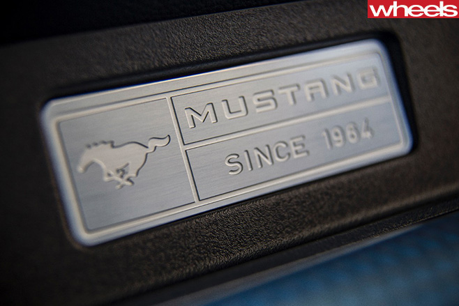 Ford -Mustang -plaque