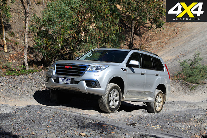 Haval H9 uphill driving