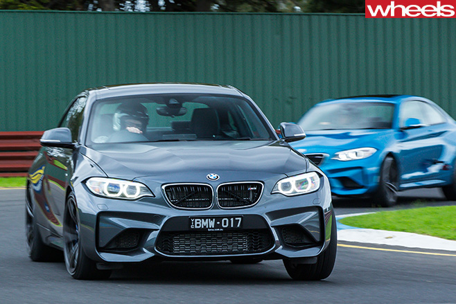 BMW-m 2-driving -course