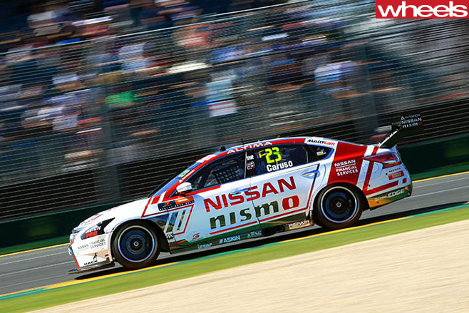 Nismo -V8-driving
