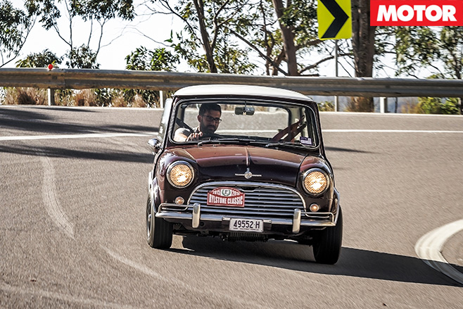 Driving the 1966 Cooper S