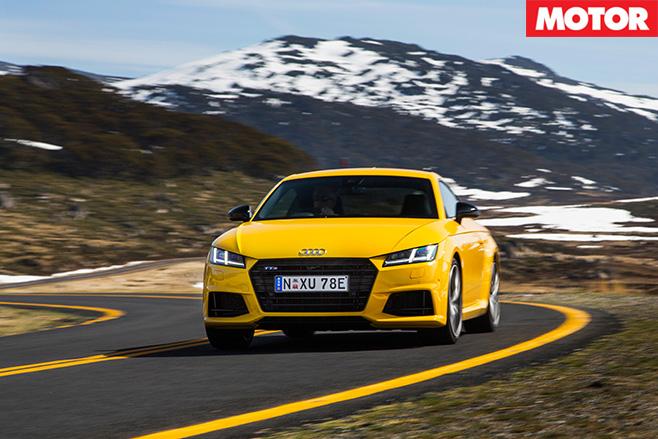 Audi tts coupe front