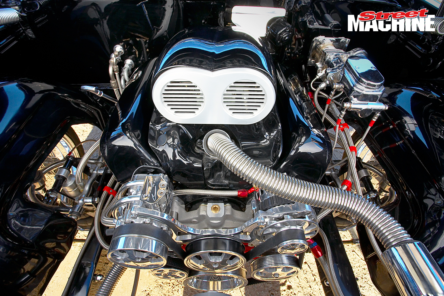 60 Impala Bubble Top Coupe Engine