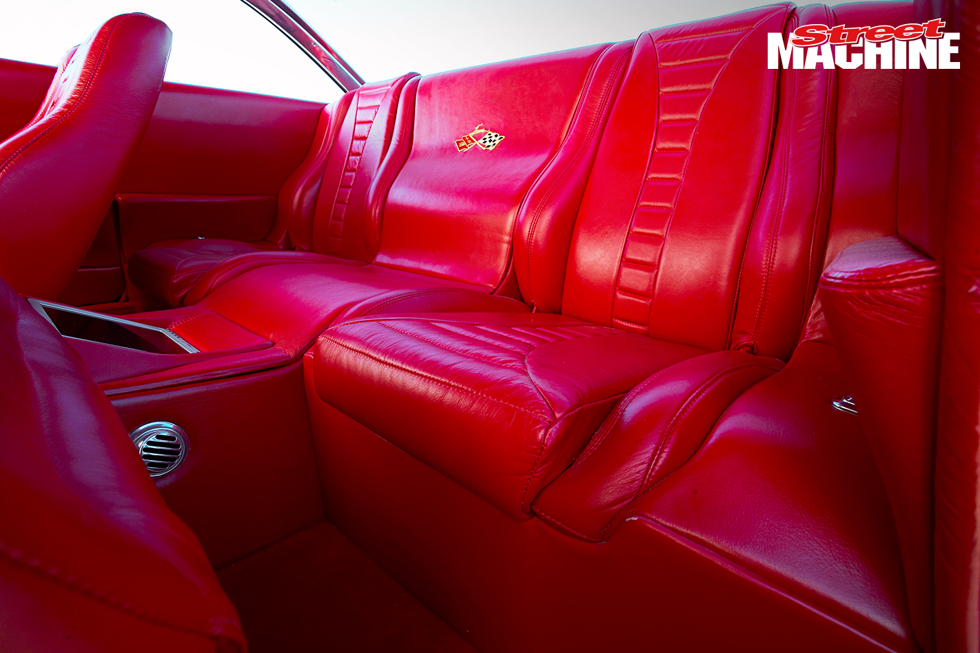 60 Impala Bubble Top Coupe Interior