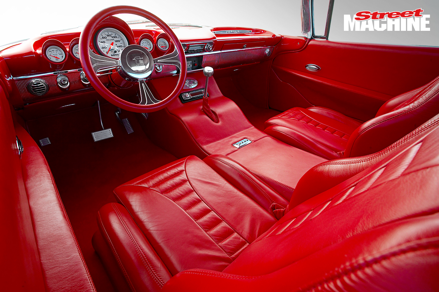 60 Impala Bubble Top Coupe Interior 1