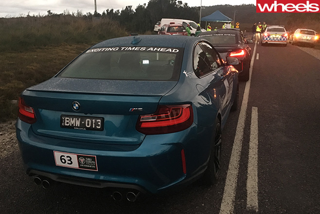 Channel -7-BMW-M2-rear
