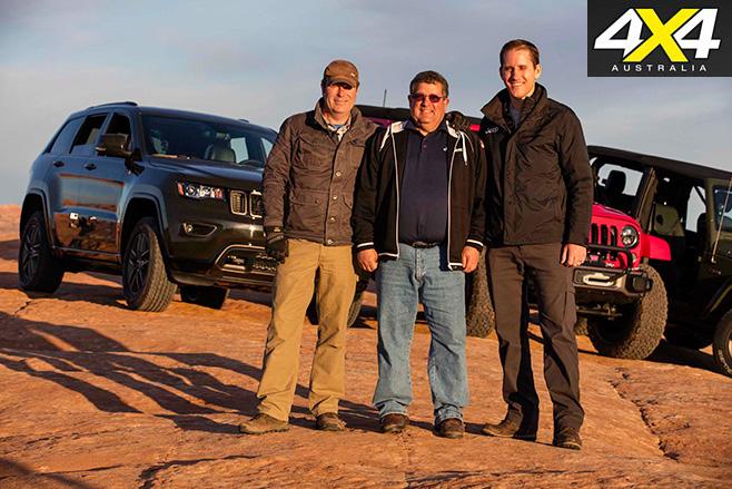 Anniversary Jeeps crew