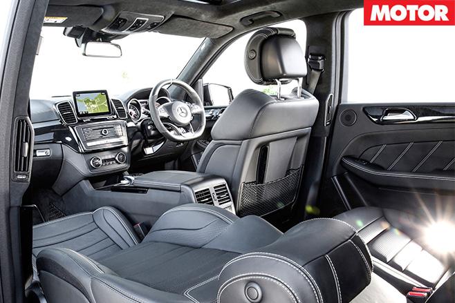 Mercedes-amg GLE63 S interior