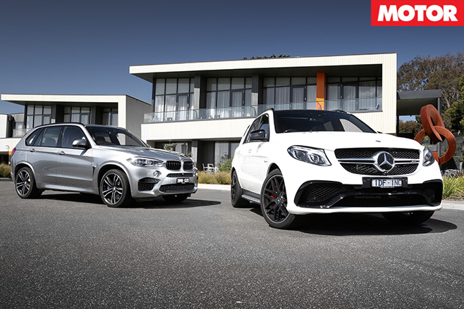 BMW X5 M VS Mercedes-AMG GLE63 S still
