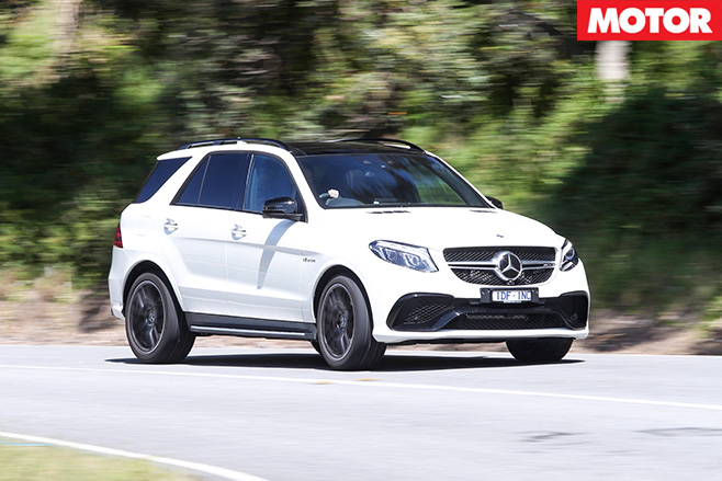 Mercedes-amg-GLE63 S front driving