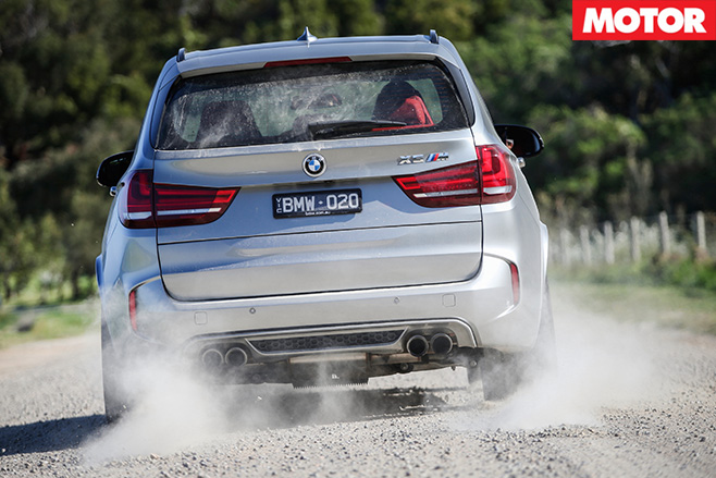 Bmw x5 tyre spin