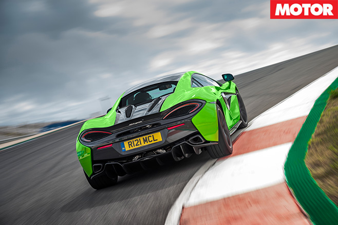 McLaren 570S review rear