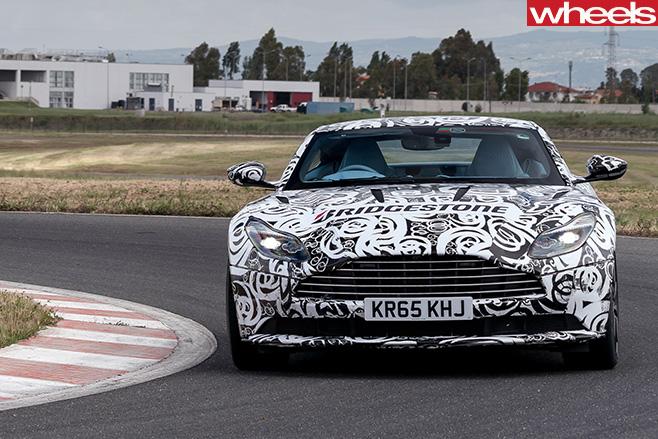 Aston -Martin -DB11-front -driving