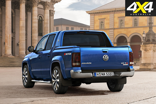 New volkswagen amarok V6tdi rear