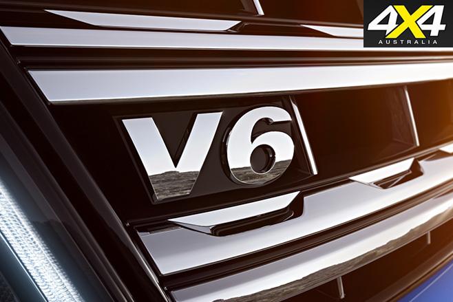 New volkswagen amarok -V6tdi -grill
