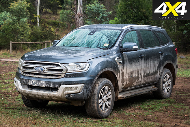 Ford everest still