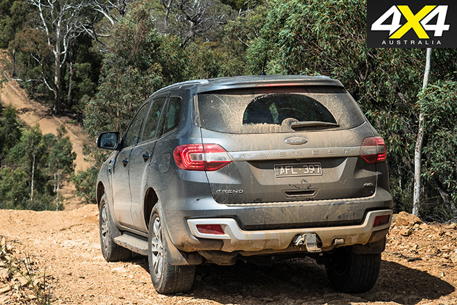 Ford everest rear