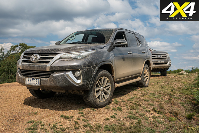 Toyota fortuner still