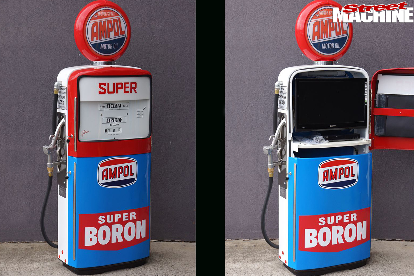 Fuel -bowser