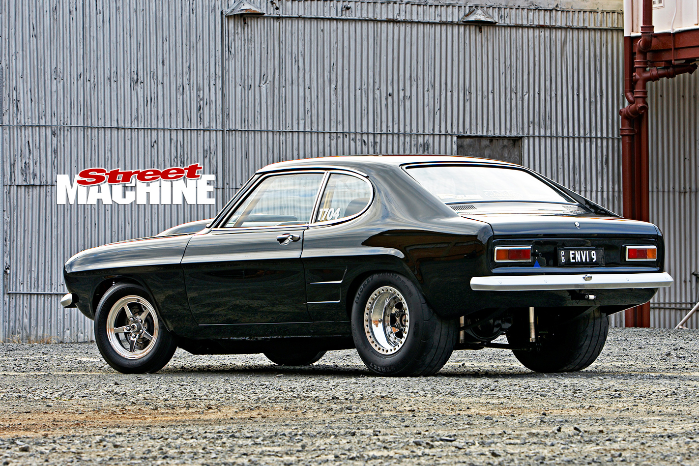 Ford -Capri -rear -side