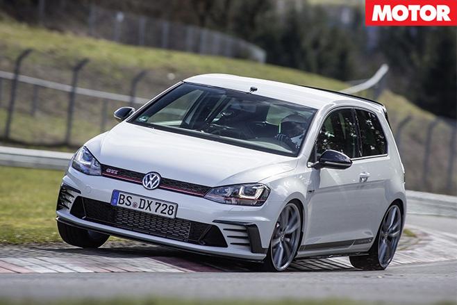 Volkswagen golf gti clubsport S front