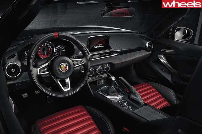 Fiat -Abarth -124-spider -interior