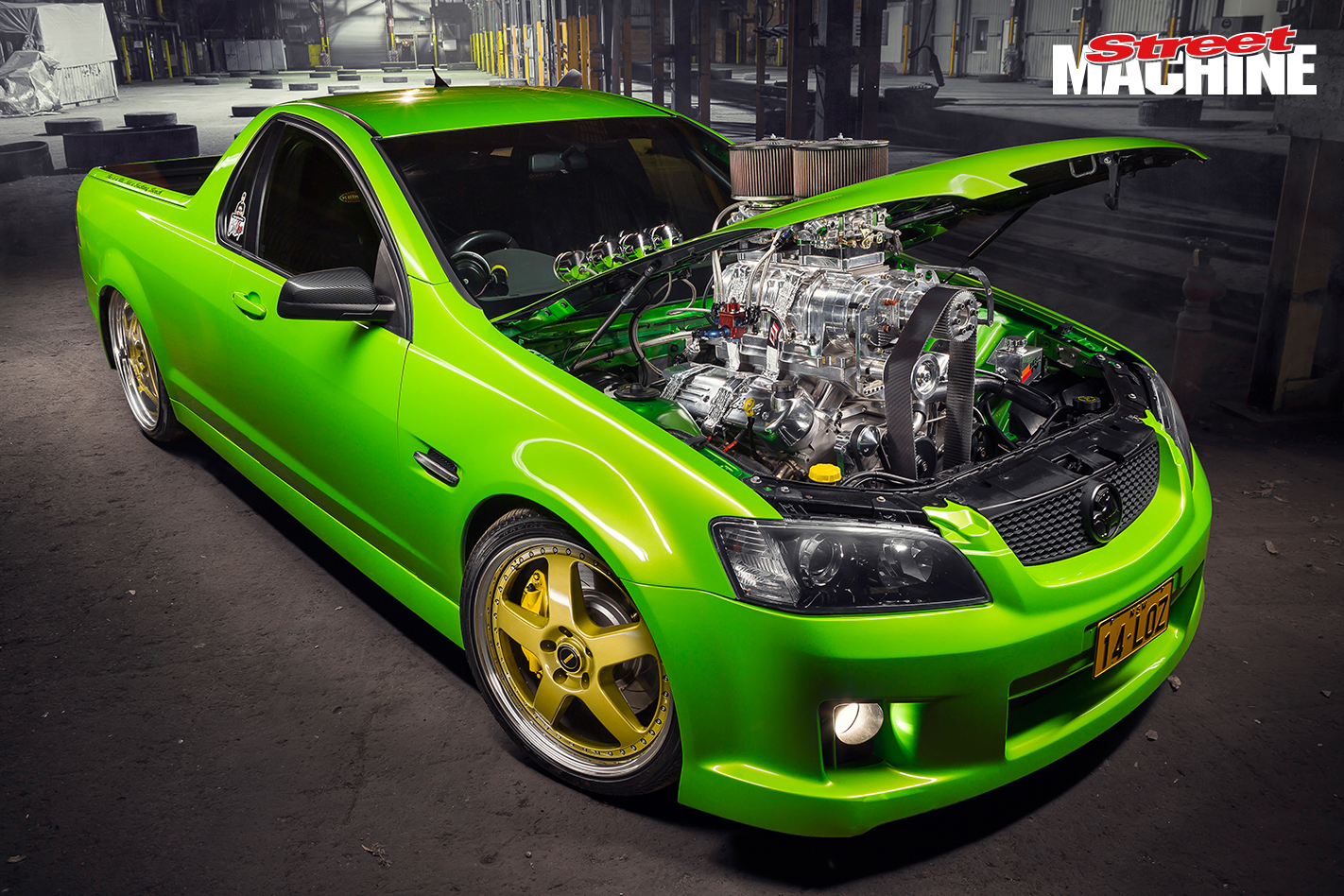 VE Commodore Ute Blown