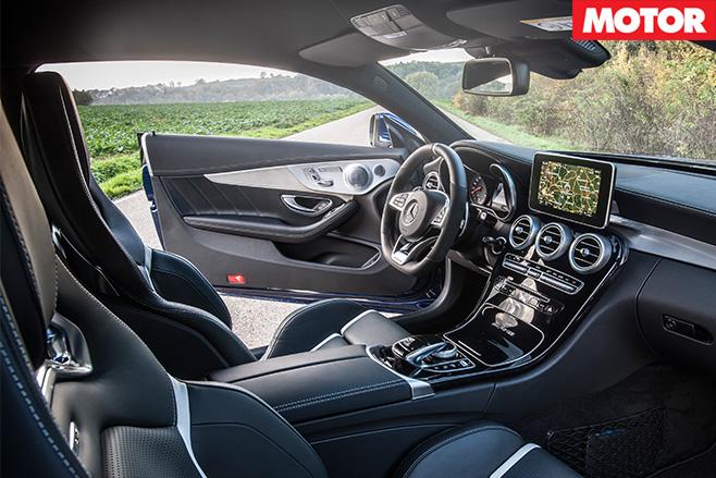 Mercedes-amg c63 S coupe interior