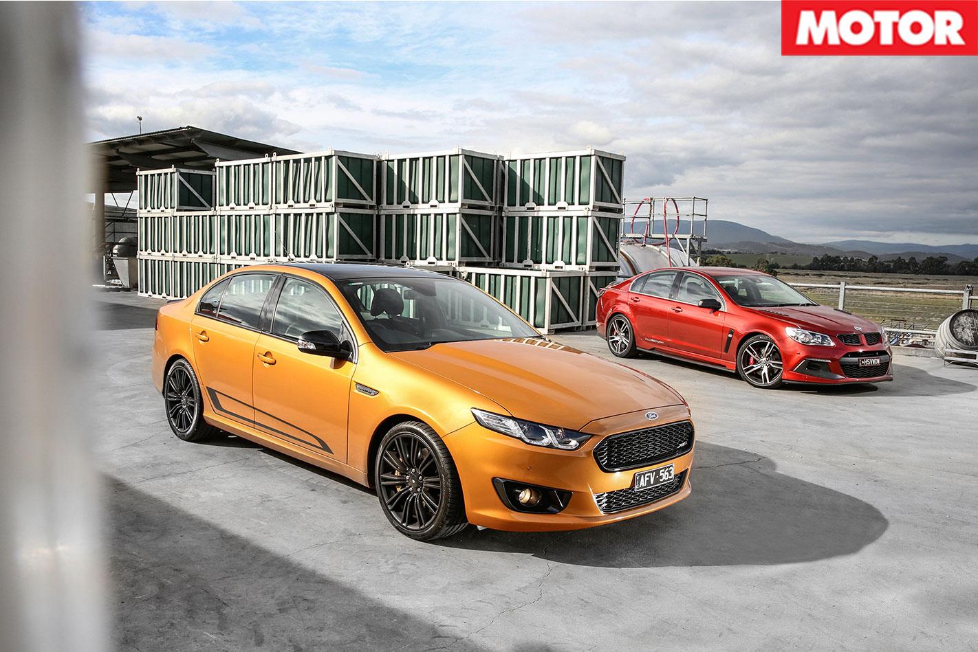 Hsv -Clubsport -LSA-vs -Ford -Falcon -XR8-Sprint