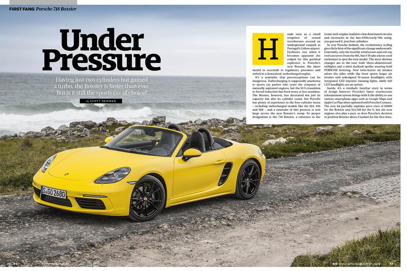 Porsche -718-Boxster