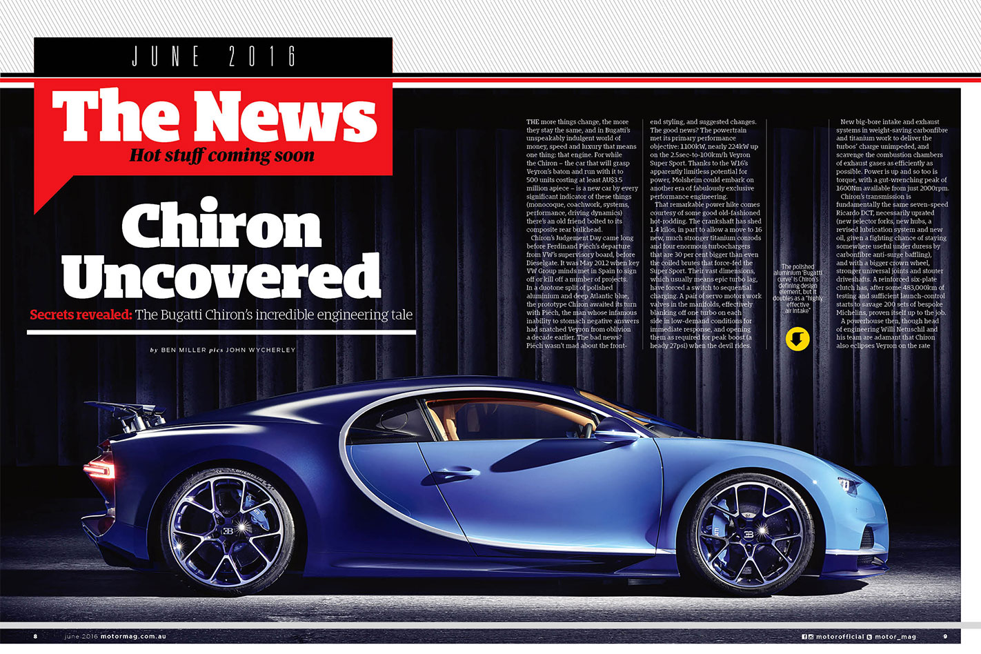 Bugatti -Chiron