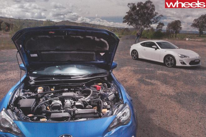 Toyota -86-Subaru -BRZ-front