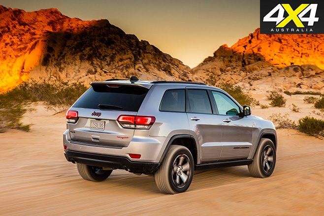 Jeep Grand Cherokee Trailhawk set for Australia rear