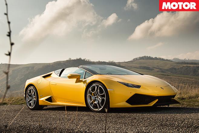 Lamborghini Huracan Spyder STILL