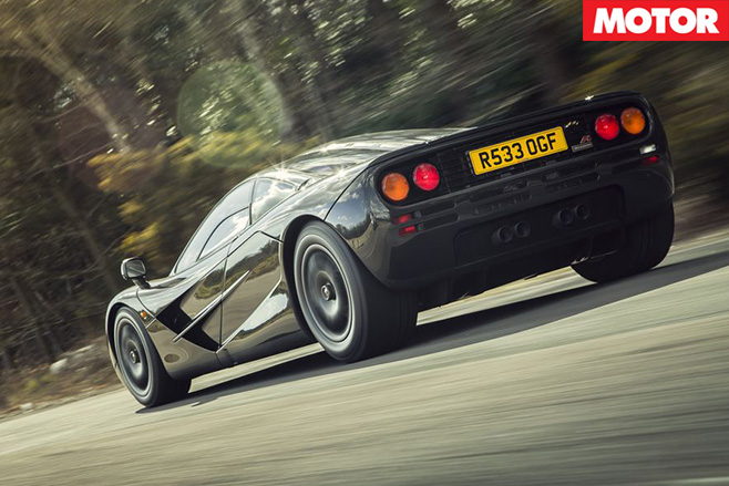 Unicorn McLaren F1 for sale rear