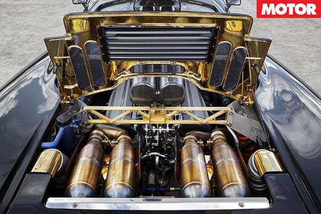 Unicorn McLaren F1 engine