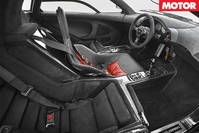 Unicorn McLaren F1 interior