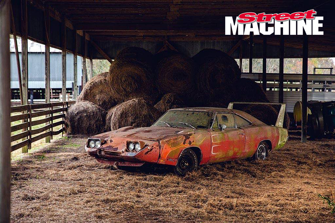 BARN FIND DODGE DAYTONA FOUND AND SOLD AT AUCTION