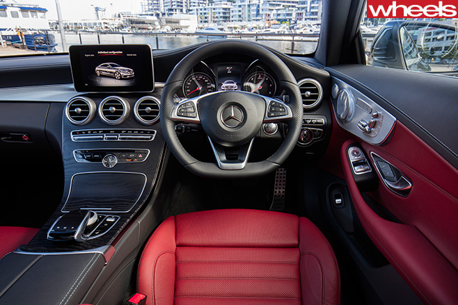 Mercedes -C-Class -Coupe -interior