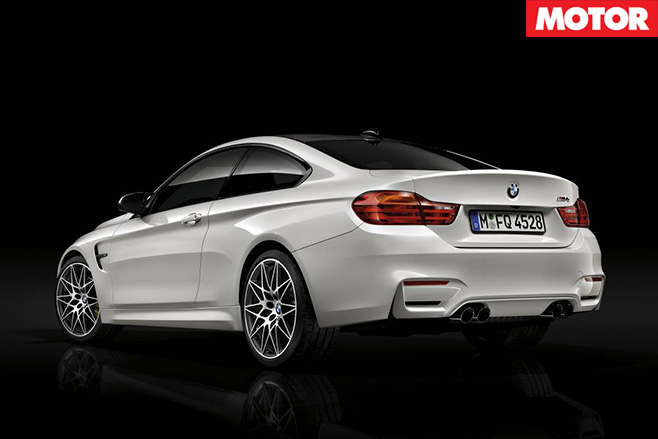 BMW prices M3/M4 Competition Pack rear