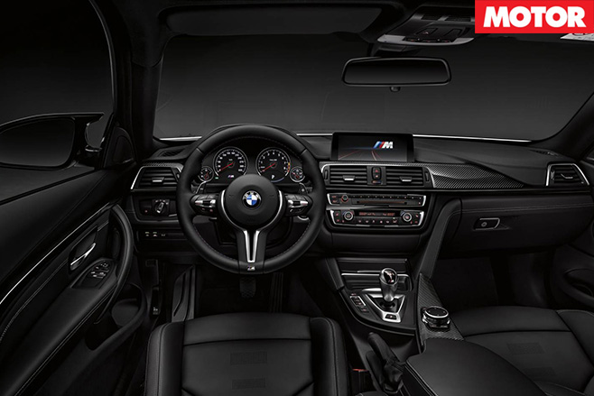 BMW prices M3/M4 Competition Pack interior