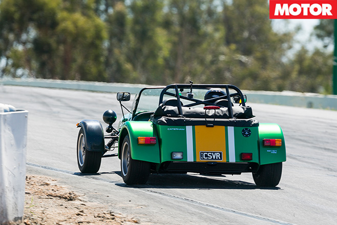 Caterham Seven 485 rear