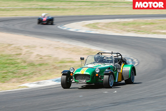 Caterham Seven 485 driving