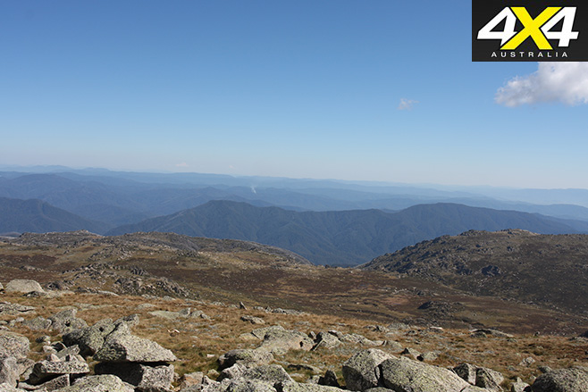 Mt kosciusko view