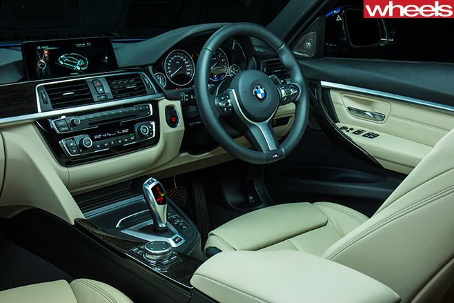 BMW-3-Series -interior