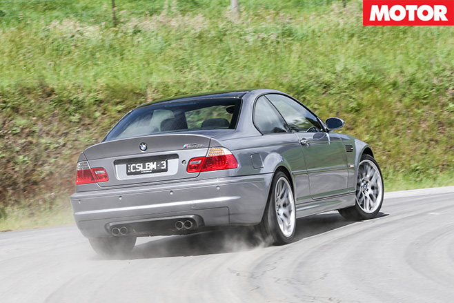 BMW E46 M3 drifting