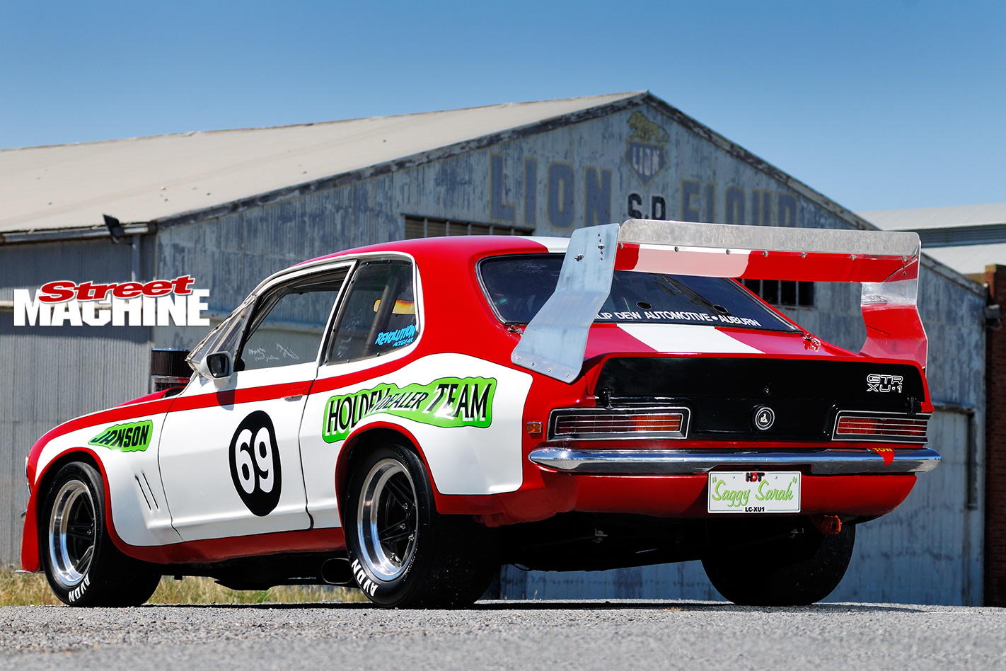 Holden -Torana -XU1-Saggy -Sarah -rear