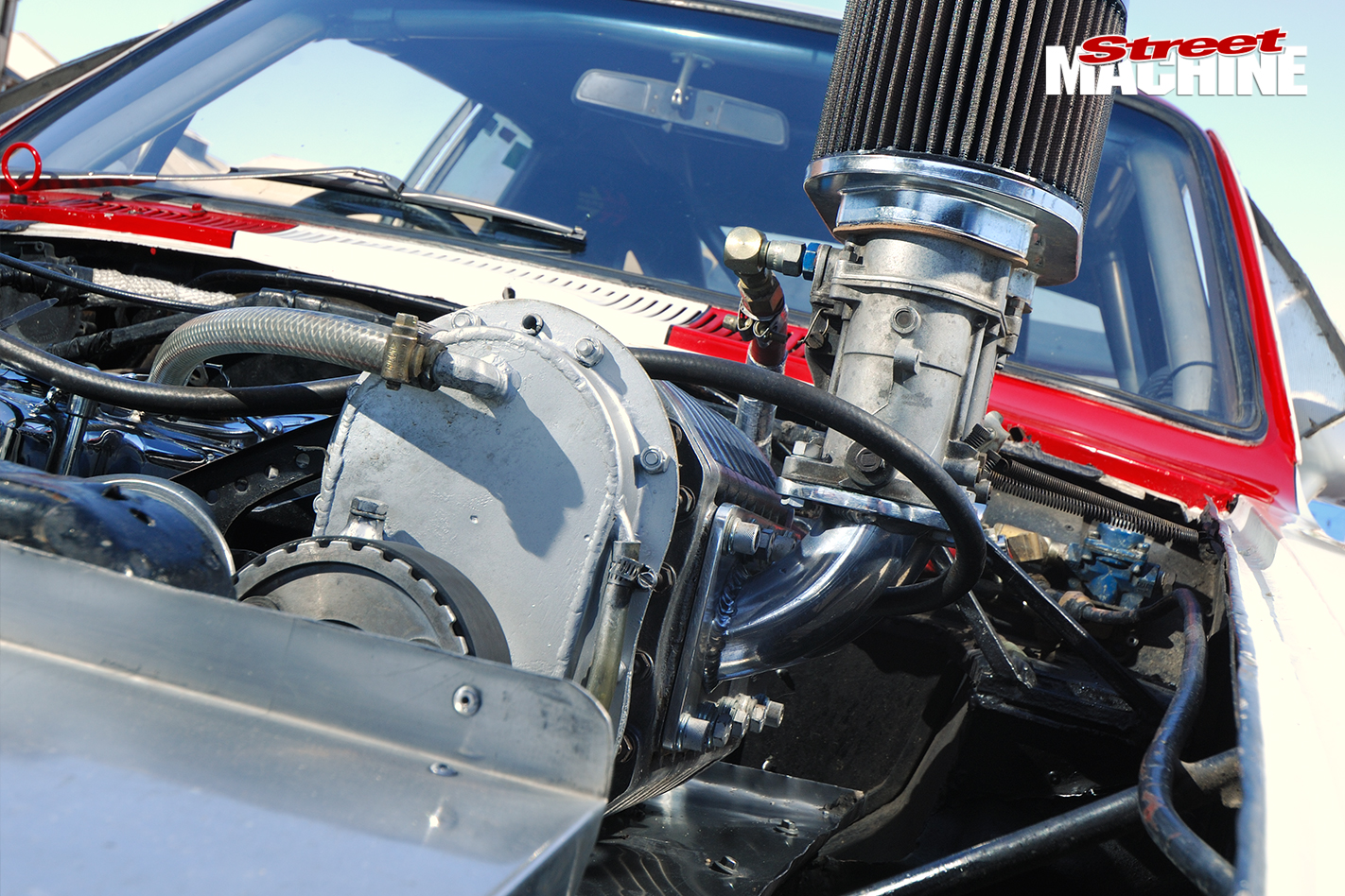 Holden -Torana -XU1-Saggy -Sarah -engine -detail