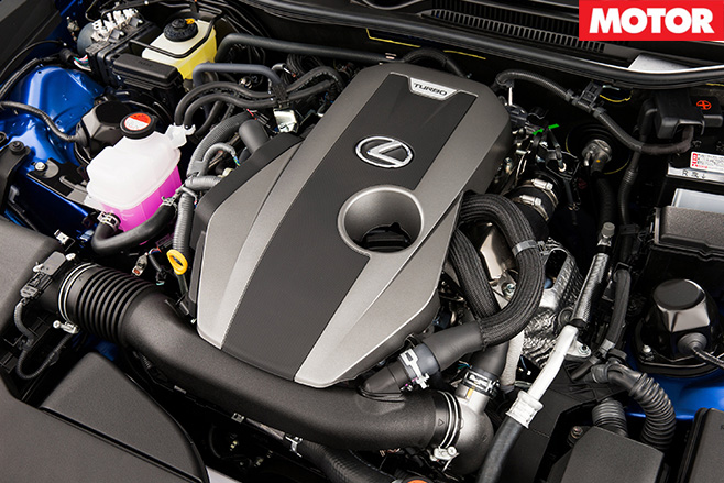 Lexus RC200t engine