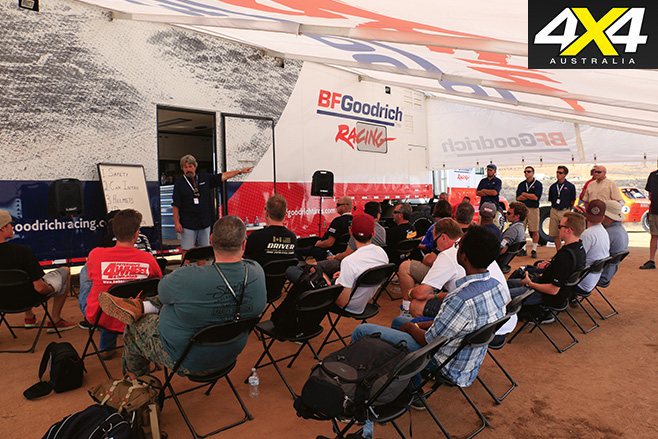The BFGoodrich Rally classroom